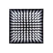 Koupelnová předložka Kolor My World VII 90x90 cm, šedá