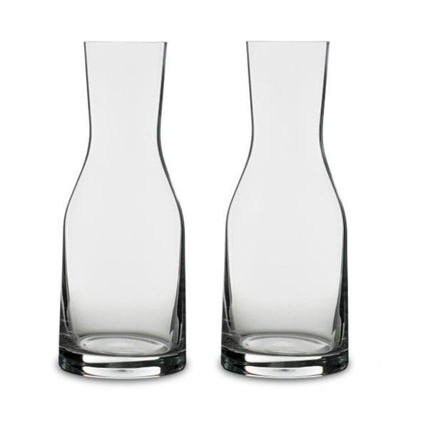 Set 2 carafe de apă din cristal Bitz Fluidum, 300 ml