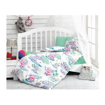 Lenjerie de pat din bumbac pentru copii Savanah, 100 x 150 cm de la Cotton Box