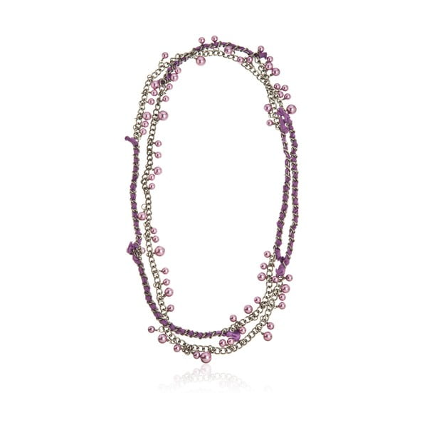 Dámský náhrdelník ve stříbrné barvě NOMA Lindsey