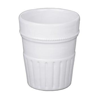 Pahar din ceramică Ego Dekor, alb, 280 ml