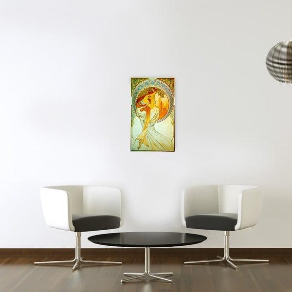 Obraz Mucha - Poetry, 30x50 cm