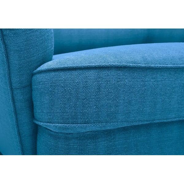Trojmístná pohovka Fifties, modrá