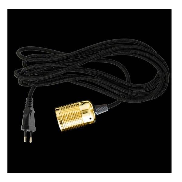 Textilní kabel ke světlu Dan Lamp Brass, 3 metry