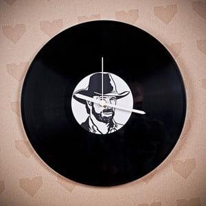 Vinylové hodiny Chuck Norris