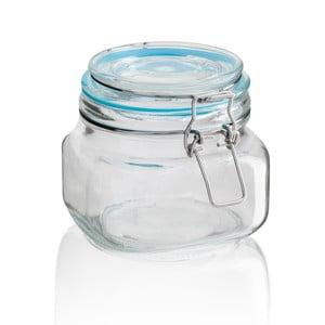Skleněná dóza Sabichi Clip, 600 ml