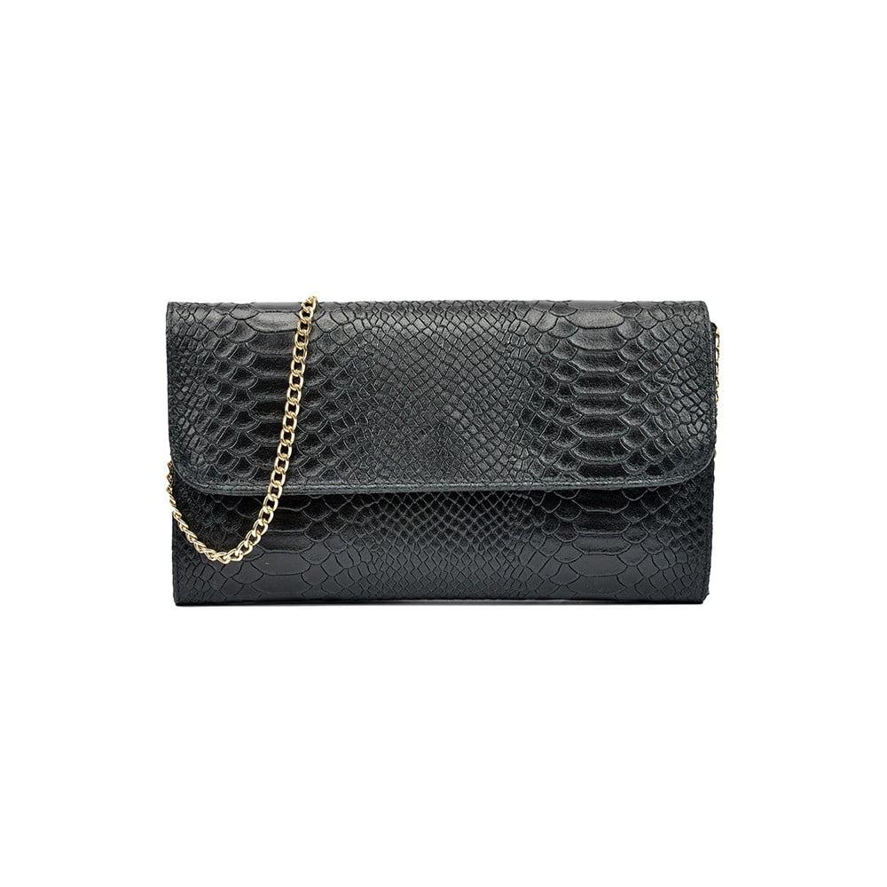 Černá kožená kabelka Isabella Rhea Carol