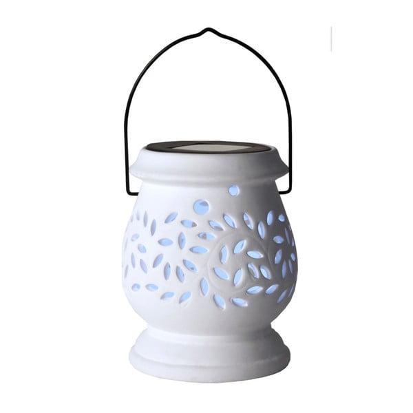 Lucerna Solar Energy Clay Lantern White