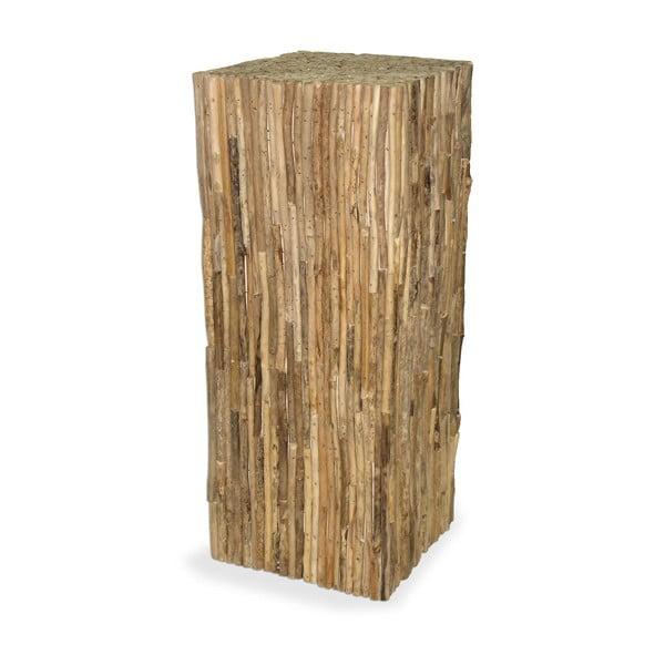Dřevěný podstavec Logs, 75 cm
