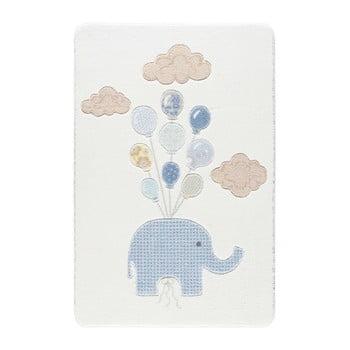 Covor pentru copii Kids World Elephant, 100 x 150 cm de la Confetti