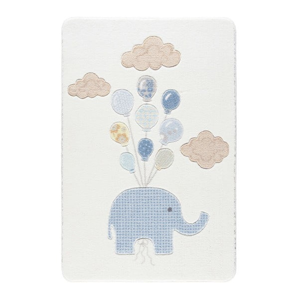 Detský koberec Kids World Elephant, 100 x 150 cm
