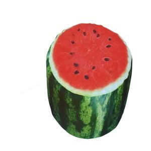 Nafukovací puf ve tvaru melounu Sunvibes