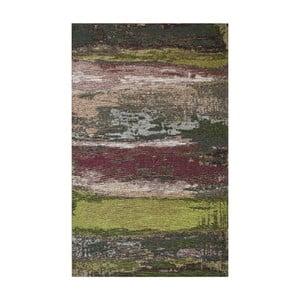 Běhoun Eco Rugs Green Abstract, 80x300cm