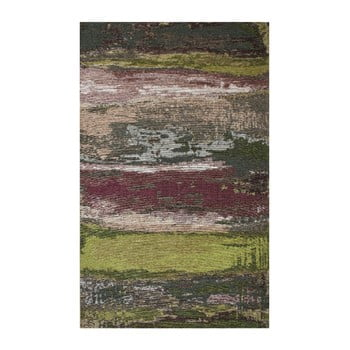 Covor Eco Rugs Green Abstract, 80 x 300 cm