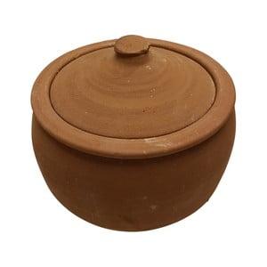 Servírovací hrnec z pálené hlíny Bambum Ispir, objem 3 l