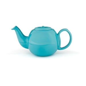 Světle modrá konvice se sítkem na sypaný čaj Bredemeijer Cosette, 900ml