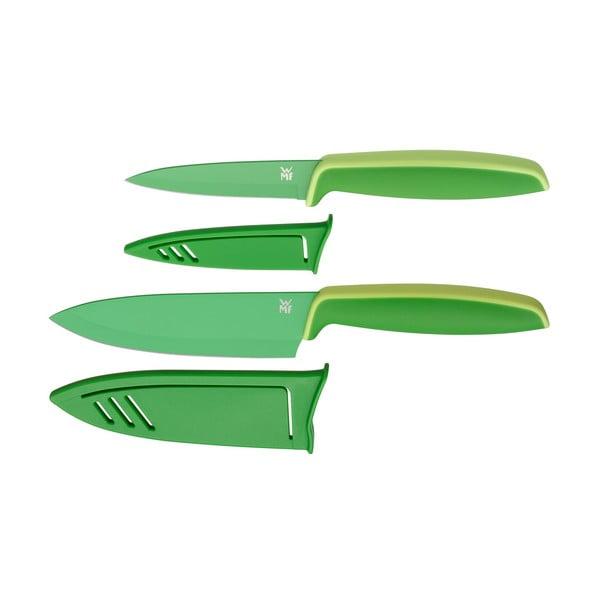 Set 2 cuțite cu capac pentru legume WMF Touch