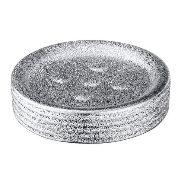 Keramická podložka na mydlo Wenko Polaris Juwel Silver