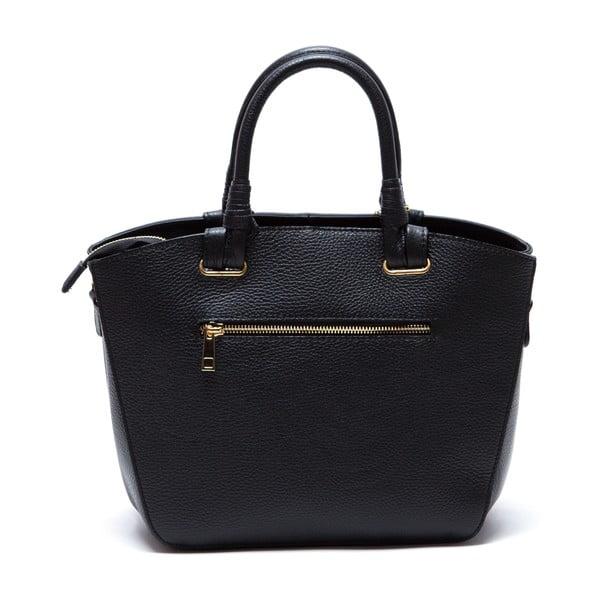 Kožená kabelka Ciara, černá