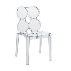Transparentní židle Circles