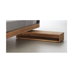 Noční stolek z olejovaného dubového dřeva Mazzivo Cubbe