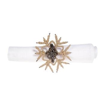 Set 12 inele decorative pentru șervețele Côté Table Snowflake de la Côté Table