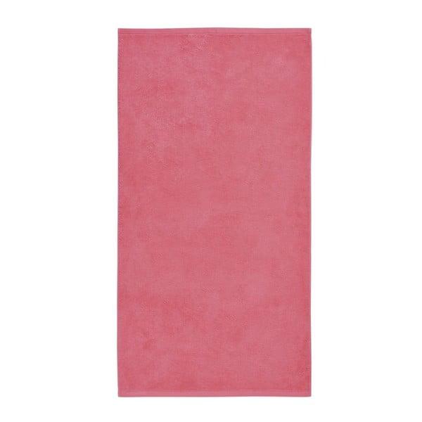 Růžový ručník z egyptské bavlny Aquanova London, 55x100cm