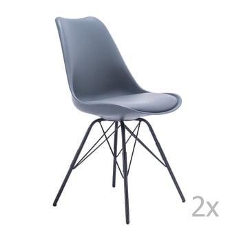 Set 2 scaune House Nordic Oslo, gri imagine