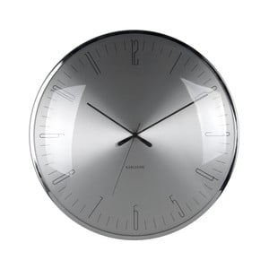 Skleněné hodiny Karlsson Dragonfly, Ø 40 cm