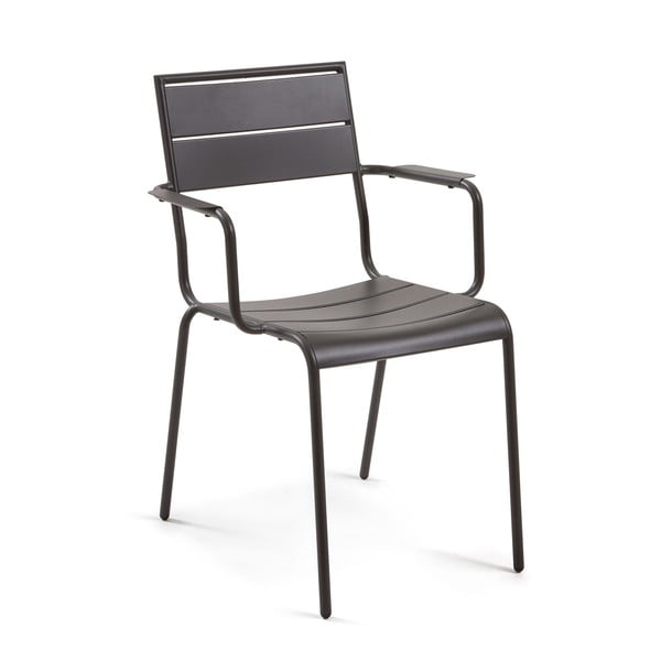 Szare krzesło La Forma Allegian
