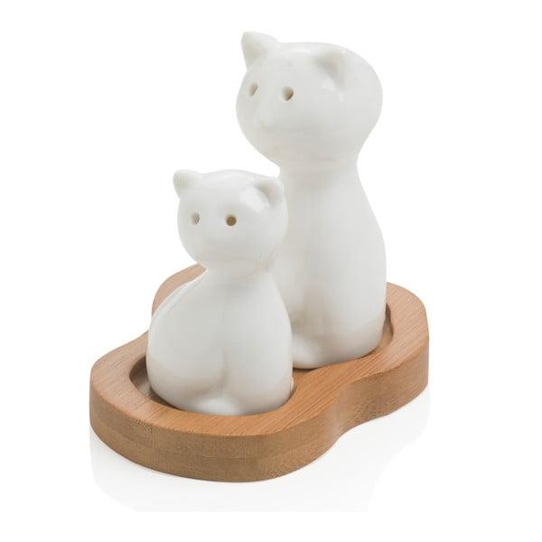 Cat só- és borsszóró tálcával - Brandani