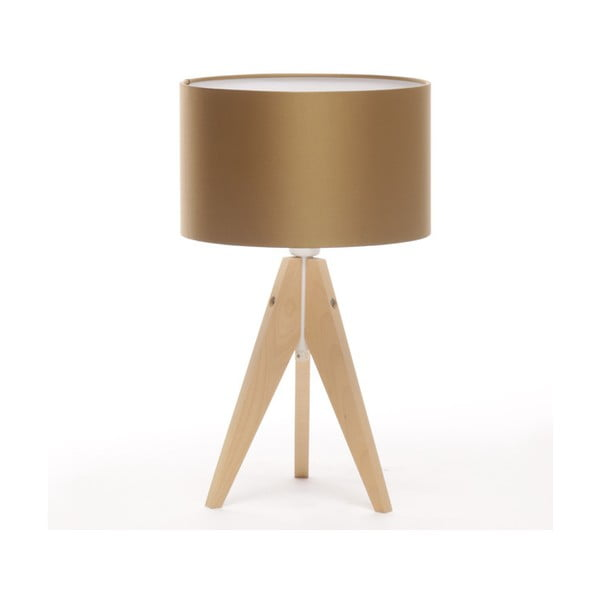 Stolní lampa Artista Birch/Golden, 28 cm