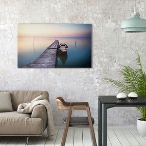 Obraz na plátně OrangeWallz Boat, 70 x 118 cm