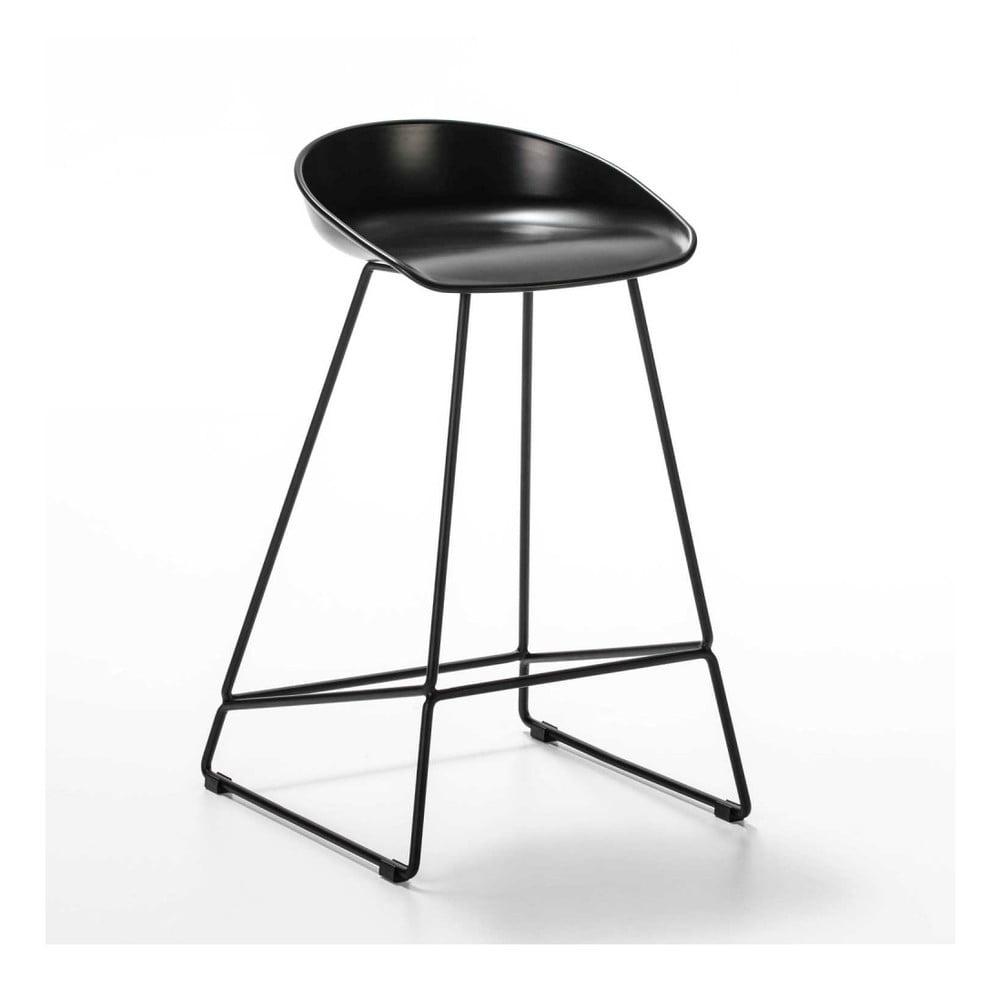 Černá barová židle Thai Natura Combo