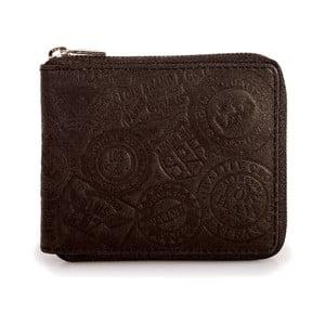 Kožená peněženka Lois Brown, 10,5x8,5 cm