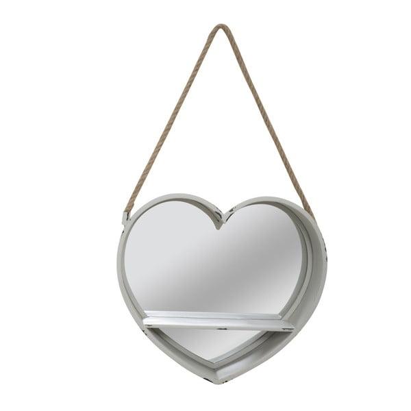 Love szívalakú akasztós tükör polccal- Mauro Ferretti