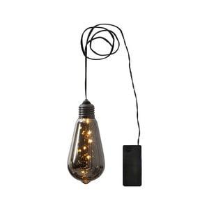 Decoraţiune LED suspendată Best Season Glow Smokeglass
