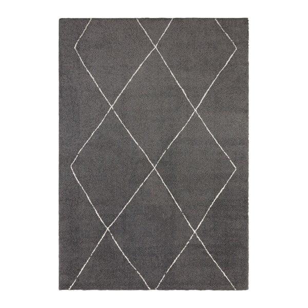 Tmavě šedý koberec Elle Decor Glow Massy, 80 x 150 cm