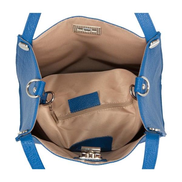 Kožená kabelka Andrea Cardone 2008 Blue Cobalto