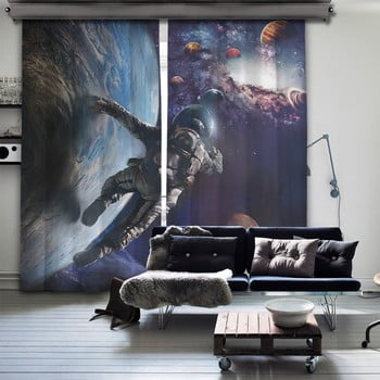 Set 2 draperii Curtain Sado, 140 x 260 cm imagine
