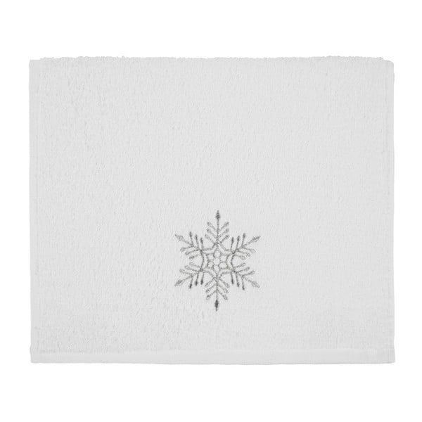 Christmas Snowflake White fürdőlepedő, 30 x 50 cm - Kate Louise