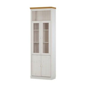Ușă pentru vitrina din lemn de pin Støraa Annabelle, alb de la Støraa