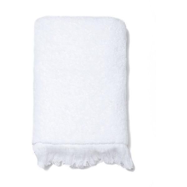 Sada 2 bílých bavlněných ručníků Casa Di Bassi Face, 50x90cm