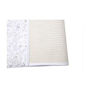 Koupelnová předložka Caniche Blanc, 80x50 cm