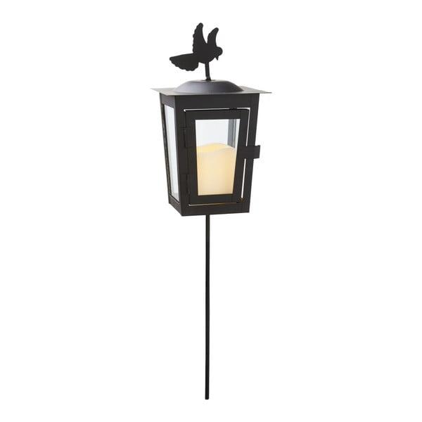 Černá LED zahradní lucerna Best Season Serene Uno
