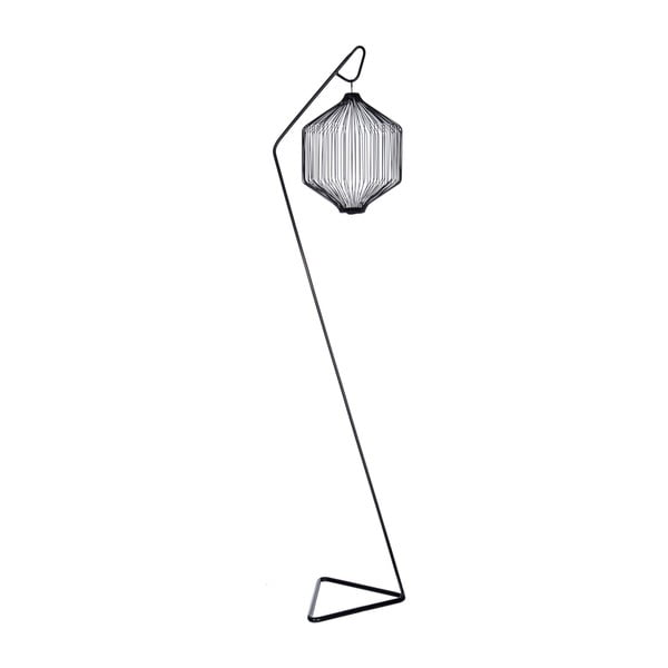 Lucerna Triangle Black, 166 cm