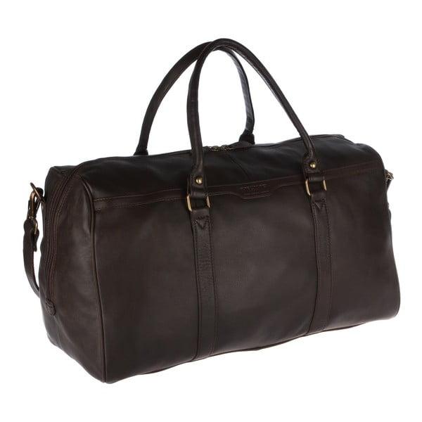 Kožená pánská taška Global Brown