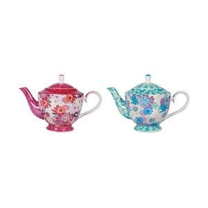 Sada 2 porcelánových čajových konvic Sema Mellow