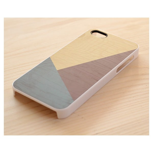 Obal na Samsung Galaxy S4, Earth Geometric Wood/white