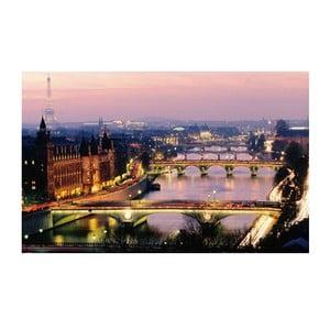 Fotoobraz Pohled na Paříž, 81x51 cm